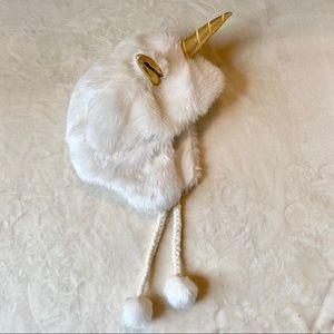 Justice unicorn 🦄 winter hat, one size
